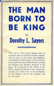 Cover of the first edition of Sayers' plays